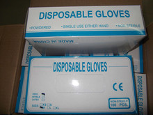 disposable powder vinyl gloves examination for medical