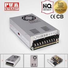 12V 29A AC/DC Switching power supply 350W CE mini single led lights powed