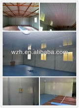 Prefab house for student /prefab Class Room with steel structure and sandwich panel