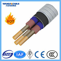ESP copper conductor, EPDM insulation, lead sheath, NBR jacker, galvanized steel armoured electrical cable