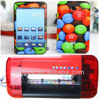 Mobile phone skin machine for daqin 3d mobile stickers software