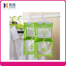 248g Remove moisture absorber hanging wardrobe dehumidifier bag