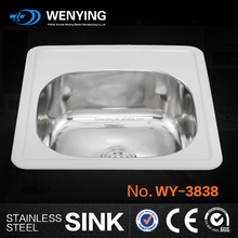 best price stainless steel industrial kitchen sink,legs stainless steel sink