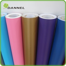 Factory produce shining film for automobile with air channel air bubble free