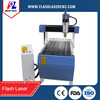 Mach 3 software 1.5KW/2.2KW water-cooling spindle motor cnc router machine 6090 with rotary device