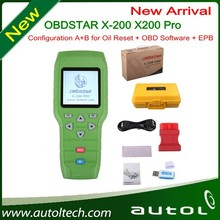 Professional Oil Reset Tool X-200 pro OBDII diagnosis Online update EPB brake + OIL reset support almost car list