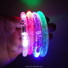 1200pcs/lot glowing Led bracelet wristband,light up bracelet,luminous bracelet for bar Chiristmas and Parties.
