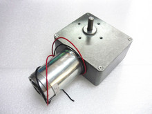 518JSX181-4468 Brand New High Torque, Low Noise, 90 Degree Right Angle 17rpm 12V DC Worm Gear Motor