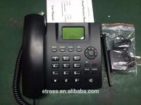 Etross or OEM GSM FWP 6188 wireless gsm sim card telephone without pstn landline