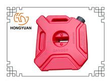 5L plastic spare fuel tank for motorbike/ PE plastic portable spare fuel tank