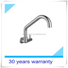 wall mounted kitchen faucet high quality 304 stainless steel faucet