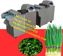 vegetable slicing machine /celery hot pepper/scallion cutting machine