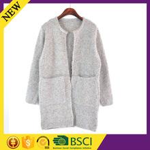 Colorful flower flat knit wool alpaca fitness western office silk women apparel