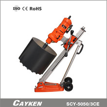 factory direct sale diamond core drill press with vacuum base stand for ceramic floor