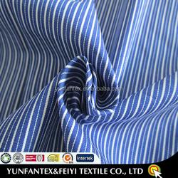 2015 latest design fashion soft Egyptian yarn dyed beautiful cotton stripe fabrics