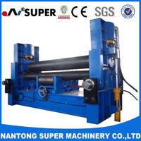 W11S-65*3000 2016 3-Roller Hydraulic Sheet Metal Plate Cone Rolling Machine
