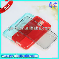 Clear Soft TPU Case For Samsung Galaxy S5 i9600 Transparent Back Cover Case Light Products New 2014
