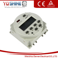 Household 24 Hour Weekly Panal Mounted 12V DC Timer Switch