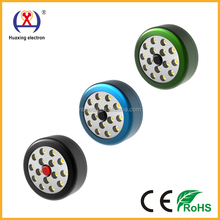 New Round portable HX-015 15 LED work lamp with magnet and hook