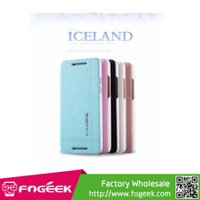 High Quality KLD Iceland Series Slim Leather Flip Case for HTC One Mini M4