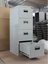 Advanced knocked-down structure salon white color cabinet/modern design bar drawer cabinet