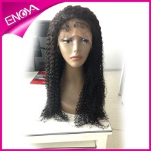 Factory Price Short Kinky Curl Cambodian Hair Silk Top Full Lace Wig