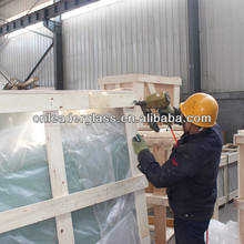 Our Tempered Glass With Safety Package For Sea Shipping