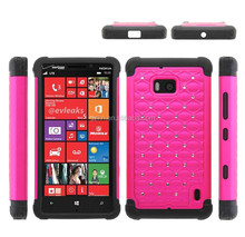 2015New product popular wholesale price waterproof splendid Luxury bling Deluxe crystal silicone rubber Case for Nokia Lumia 929