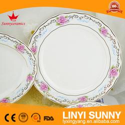New Bone China Blue Trim Tableware