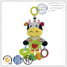 Professional Factory Supply Funny pull string musical baby plush toys