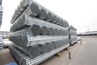 Electro Galvanized Steel Round tube for greenhouse, HLL Brand