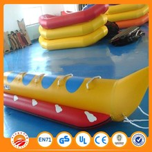 Single row inflatable water flyfish banana boat for sale