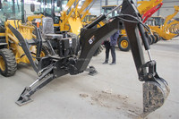 3 point hitch backhoe digger attachment for wheel loaders
