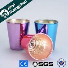 Promotional wholesale old fashion shot glass / Souvenir Shot Glass cup gift item/ OEM glassware