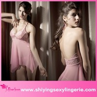 China Supplier lingerie sexy wholesale hot sale babydoll sex girls photos open