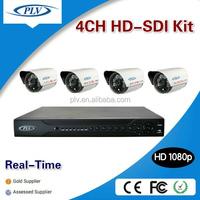 Wholesale 4ch 2mp 1080p surveillance home cctv security camera system,dvr kit hd sdi camera