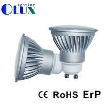 Gu10 Led Bulbs with 5w Dimmable Led Spotlight Bulb Cri80 Sharp Epistar 2700k Led Spotlight Price Ce Rohs Certificate