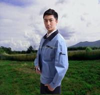 unisex light blue safety used work uniforms