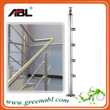 ABL/ABLinox 304/316 Stainless Steel Rail Handrail price/Balcony railing design/stainless steel handrail for stairs