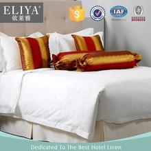 ELIYA 2015 Cotton Luxury Satin Used Hotel Bed Sheets Set 5 Star Hotel Bedding