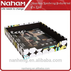 NAHAM Irregular Design Office Organization File Document Storage Tray