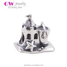Handmade Indian Beads Jewellery Designs Sterling Silver Jewelry With Sandbeach Castle