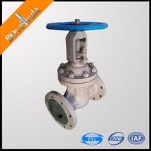 GOST WCB stem gate valve flange type water gate valve