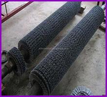 professional custom nylon waxing roller brush for fruit and vegetables