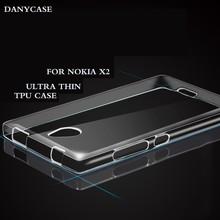 Transparent Tpu Mobile Phone Cover For Nokia X2-01