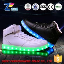 HFR-JS14-1 2015 change color performance show glow led shoes men