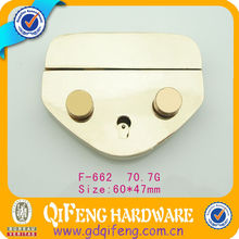 golden luggage bag parts and accessories,bag fittings and accessories