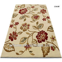 fashion hand carved indoor underlay persian wool carpet