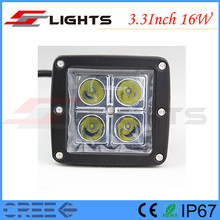Square 16W LED Tuning Working Light