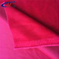 58/60'' rose red and pink velvet fabric for window treatments, furniture upholstery or any home textile fabric project